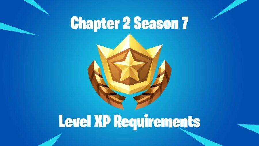 Featured Battle Pass XP Levels Fortnite Chapter 2 Season 7.