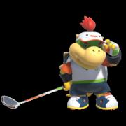Bowser Jr. in Mario Golf Super Rush.