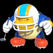 Mario in Mario Golf Super Rush.