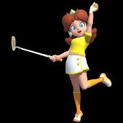 Daisy in Mario Golf Super Rush.