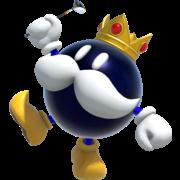 King Bob-omb in Mario Golf Super Rush.