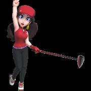Pauline in Mario Golf Super Rush.