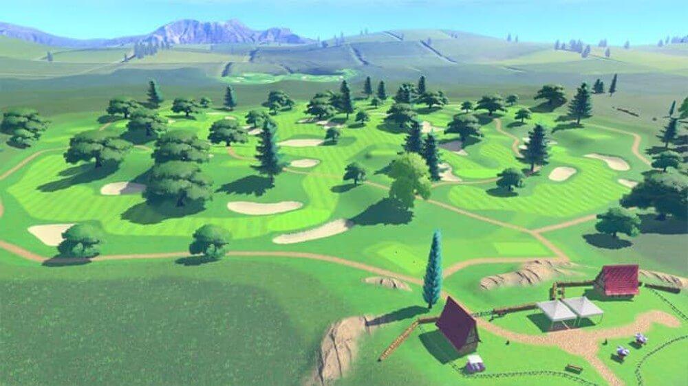 Rookie Course course in Mario Golf Super Rush.