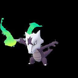 The avatar for Alolan Marowak in Pokemon Go.