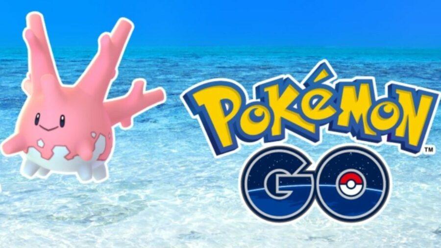 Corsola in Pokemon Go.