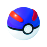 A Great Ball in Pokemon Go.
