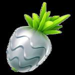 A silver pinap berry in Pokemon go.