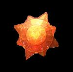 A Sun Stone in Pokemon Go.
