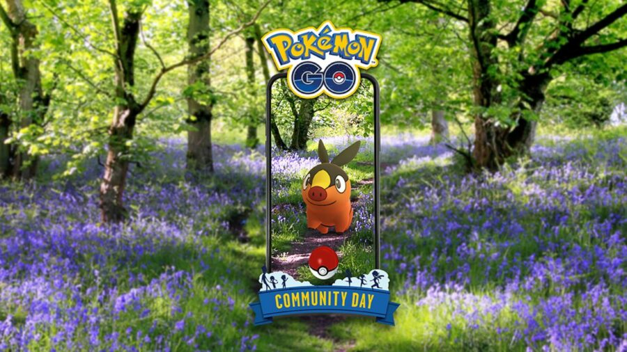 Promo for Tepig Community Day.