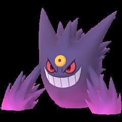 Mega Gengar in Pokemon Go
