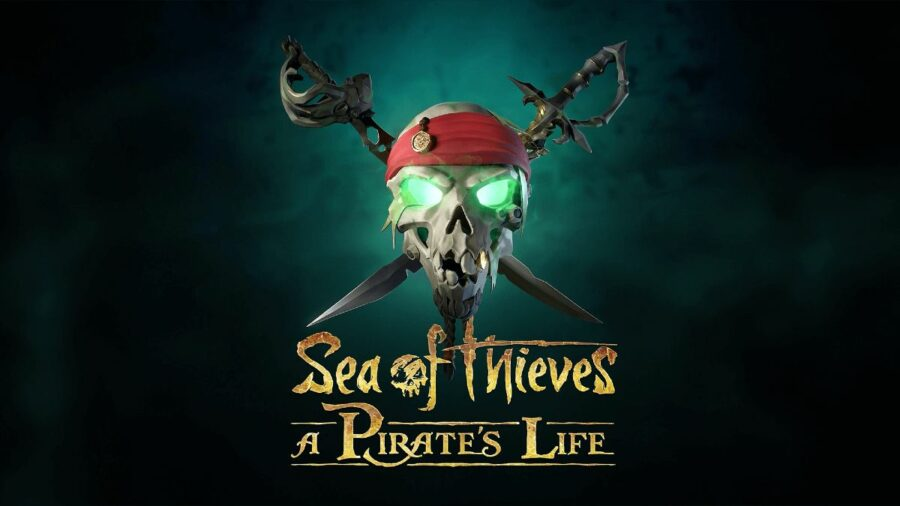 Sea of Thieves a Pirates Life Title.