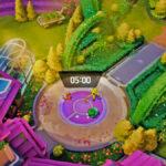 Screenshot of Pokémon Unite gameplay