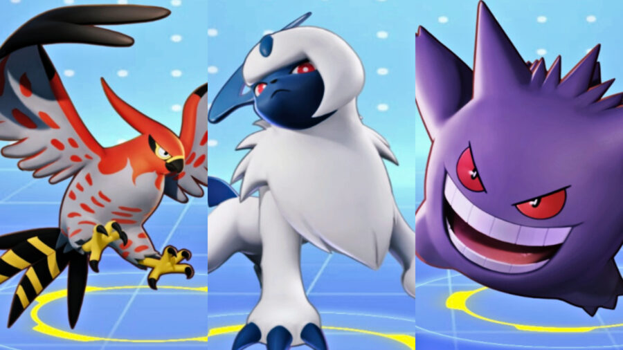 Screenshots of Pokemon Unite Speedster Class