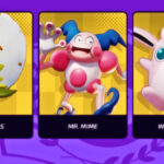 Screenshot of Pokemon Unite game