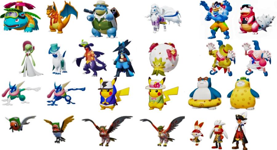 All Skins In Pokemon Unite Pro Game Guides