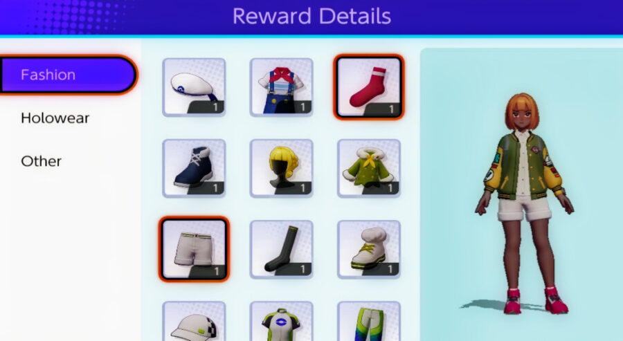 Screenshot of Pokemon Unite gameplay