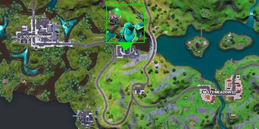 Zyg and Choppy Location in Fortnite