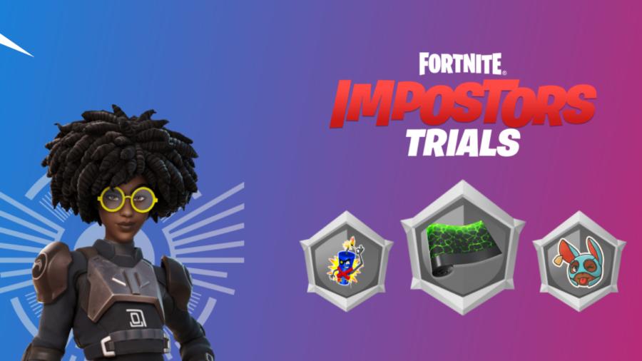 Fortnite Impostors Trials Title