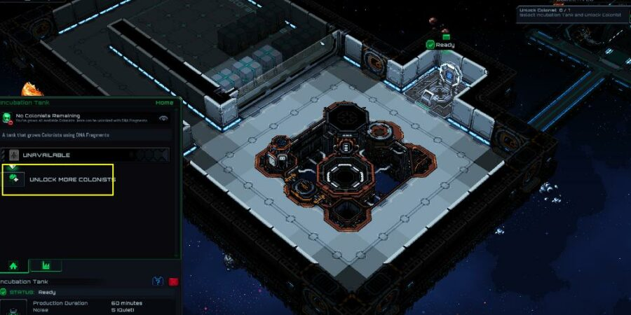 Accessing the Egos in Starmancer