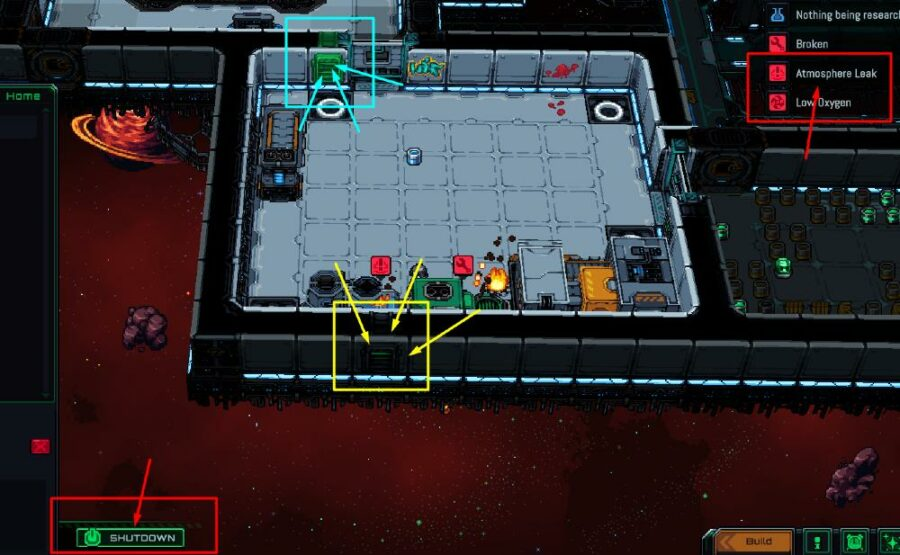 Venting a room in Starmancer.
