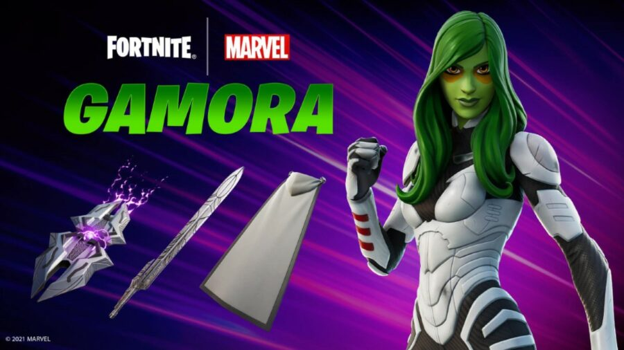 Fortnite Gamora Cosmetics