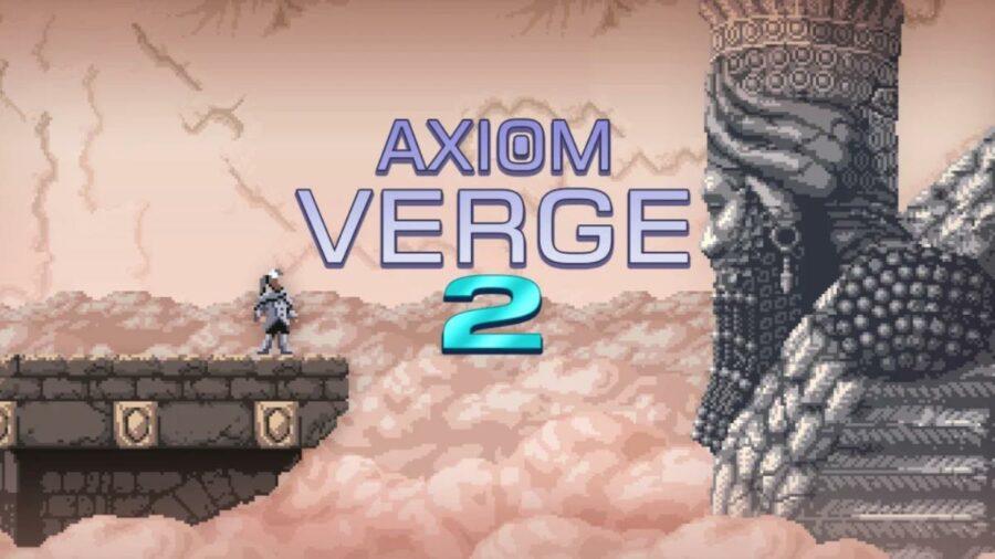 Axiom Verge 2 Title