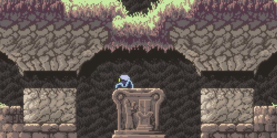 Getting the axe in Axiom Verge 2