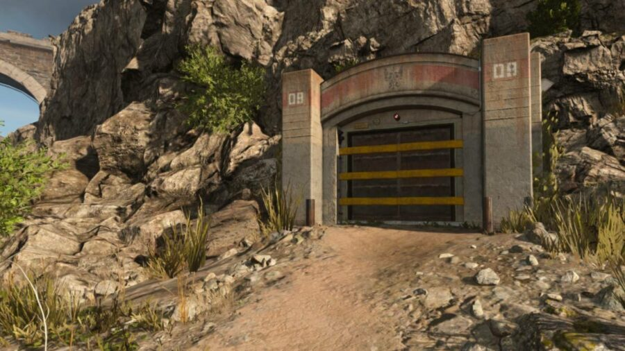 A bunker in Call of Duty Warzone.