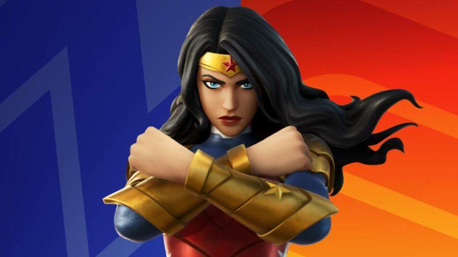 Wonder Woman in Fortnite