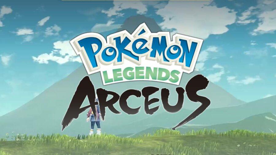 Pokemon Legends Arceus Title