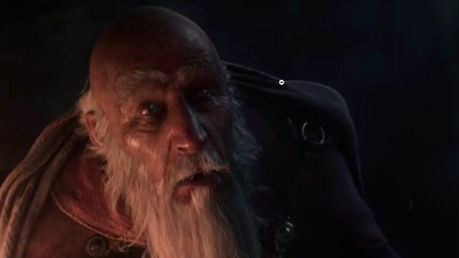 Deckard Cain in Diablo 2