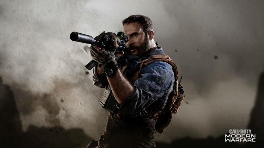 Call of Duty Modern Warfare title.