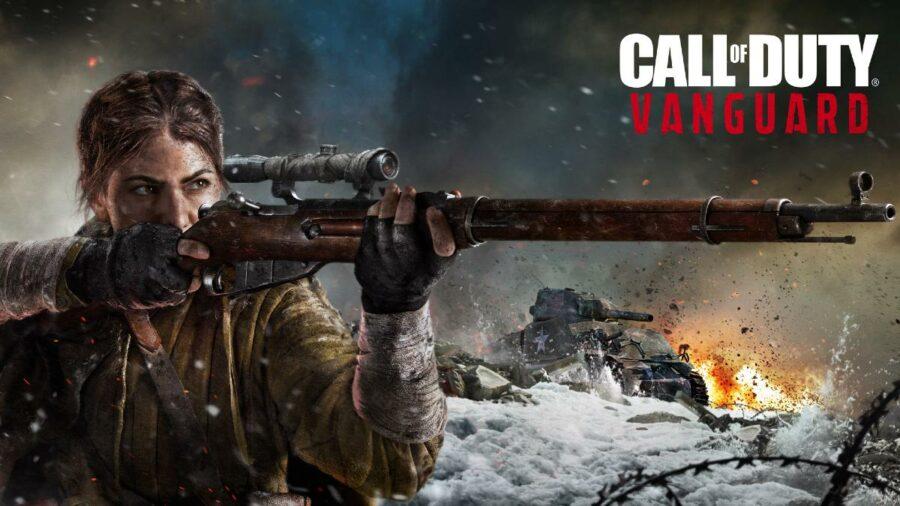 Call of Duty Vanguard Title