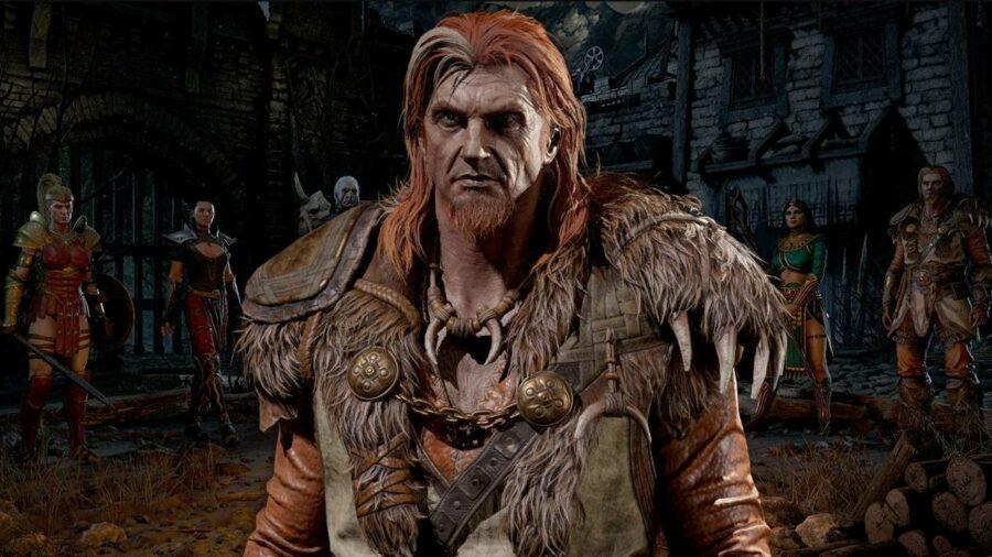 A druid in Diablo 2