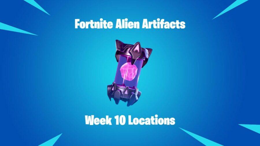 Fortnite Alien Artifacts Week 10 Title.