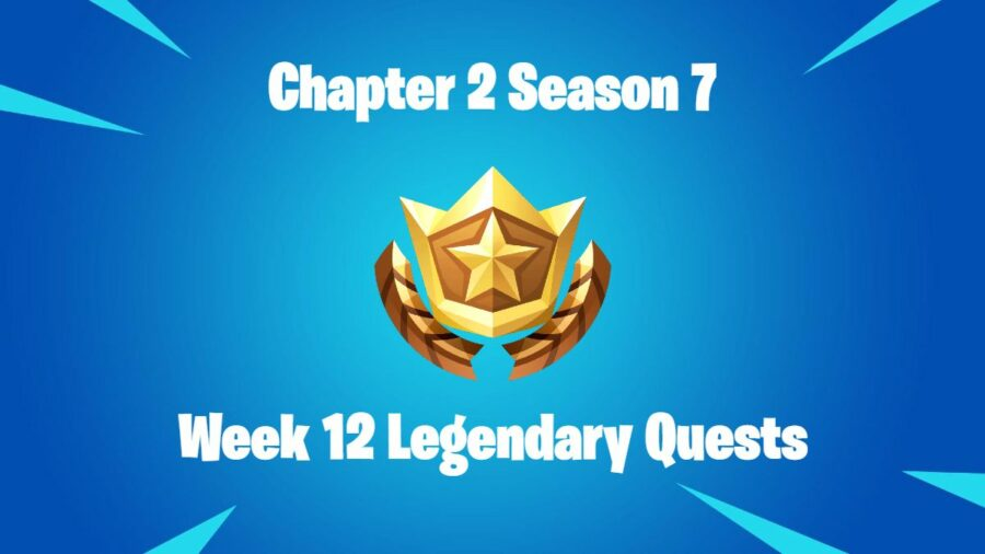 Title for Fortnite Legendary Quests C2S7W12