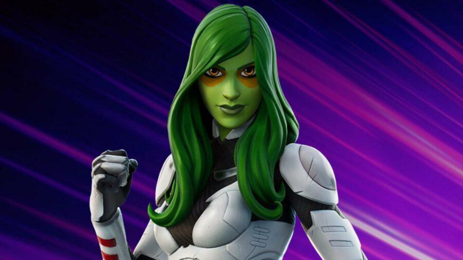 Gamora in Fortnite Cup
