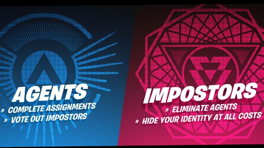 The Imposters Loading Screen in Fortnite.