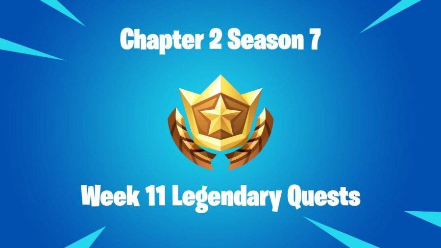 Title for Fortnite Legendary Quests C2S7W11