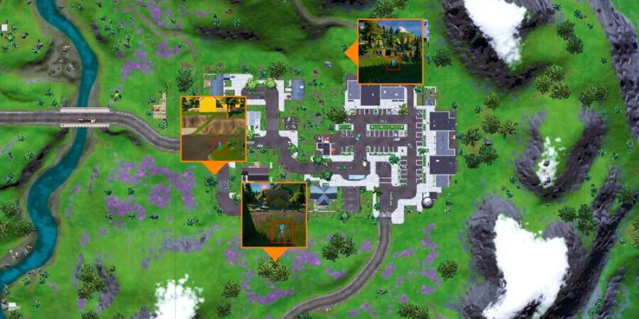 Spy Probe locations in Fortnite C2S7W9