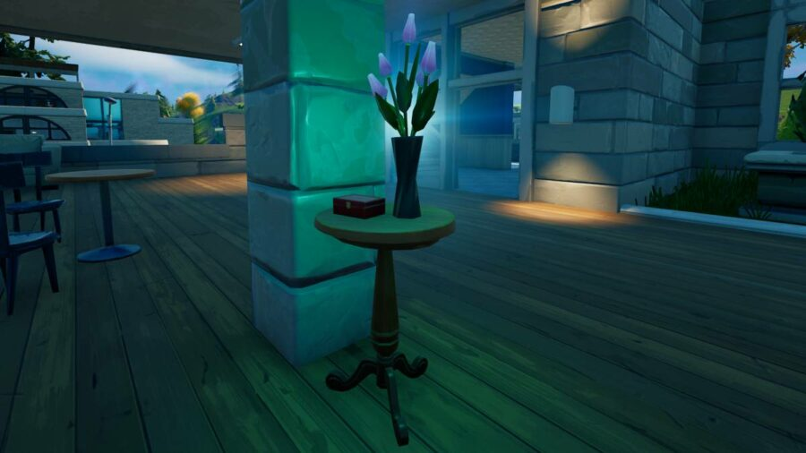 A Flower Vase in Fortnite