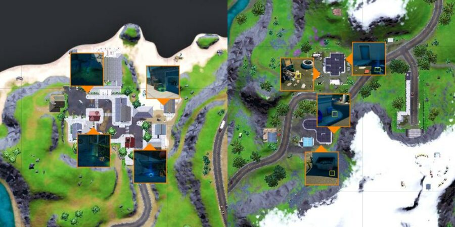 Vintage Cat Food locations in Fortnite C2S7W11