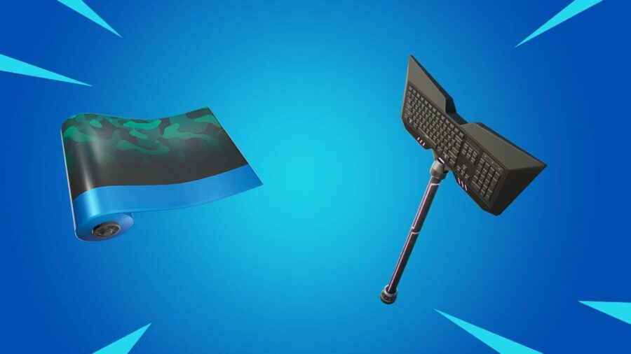 Wavebreaker Wrap and Qwerty Axe