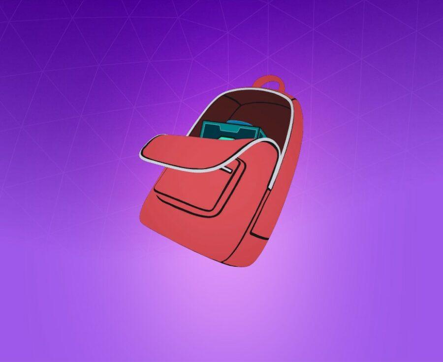 Morty's Backpack Back Bling