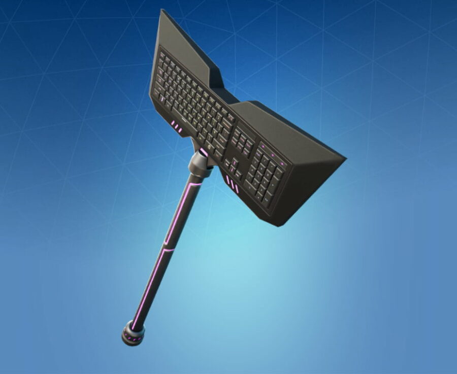 Qwerty Axe Harvesting Tool