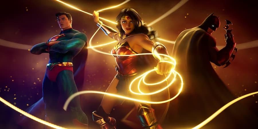 DC Trinity Loading Screen