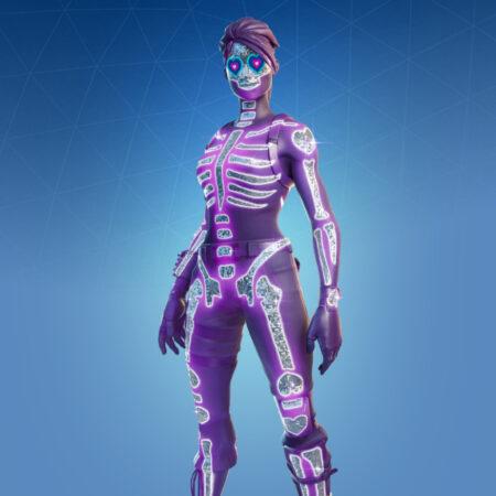 Sparkle Skull skin