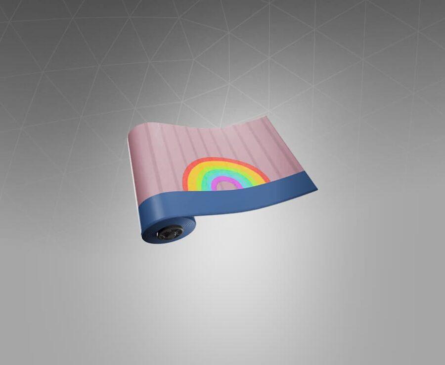 Rainbow Bubblegum Wrap