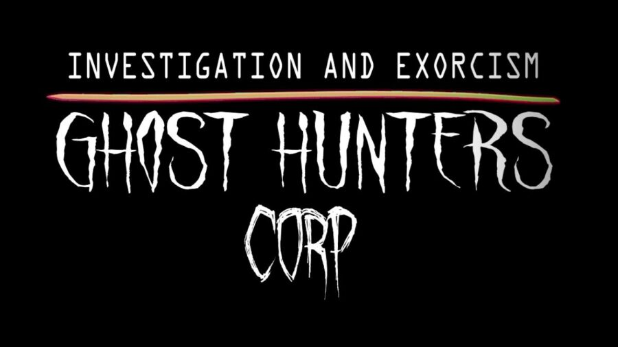 The title for Ghost Hunters Corp