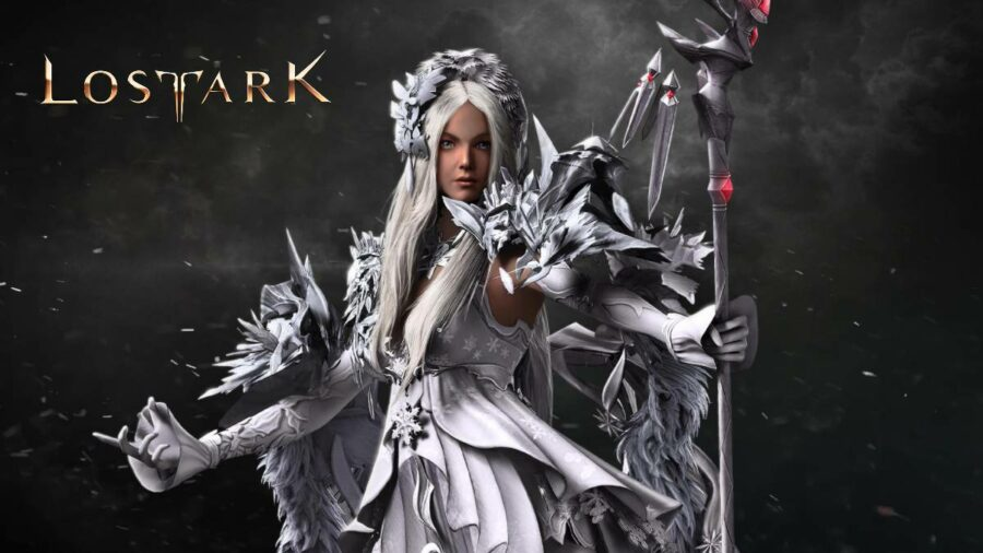 The mage class in Lost Ark.